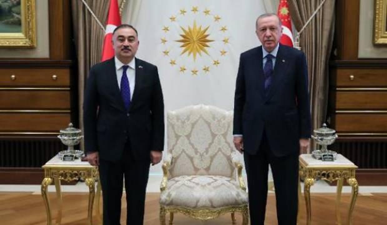 Erdoğan, Azerbaycan ve Avustralya Büyükelçilerini kabul etti