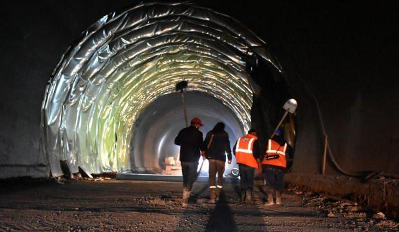 Geminbeli Tüneli'nde ışığa son 250 metre