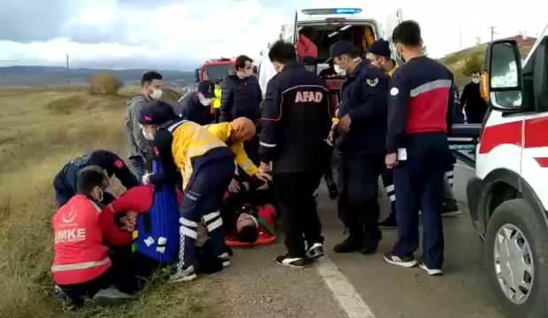 Kastamonu'daki kazada yaralanan polislerden 8'i Ankara'ya getirildi