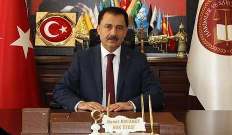 Son Dakika: HSK üyesi Hamit Kocabey istifa etti