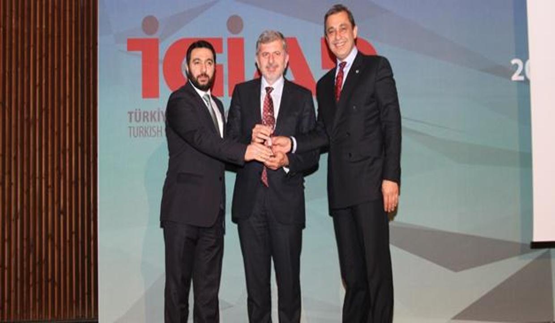Girişimcilik ödülü Reis Makina'ya verildi