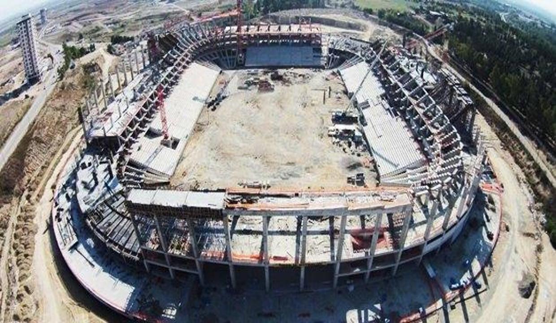 Yeni Adana Stadı yükseliyor