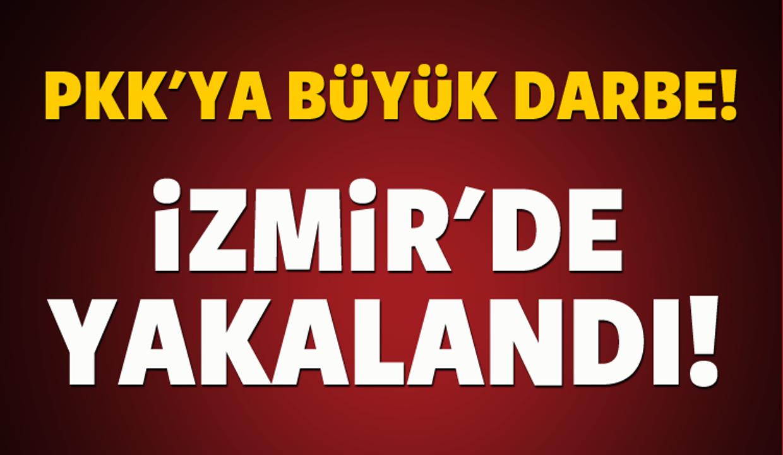 PKK'ya büyük darbe! İzmir'de yakalandı