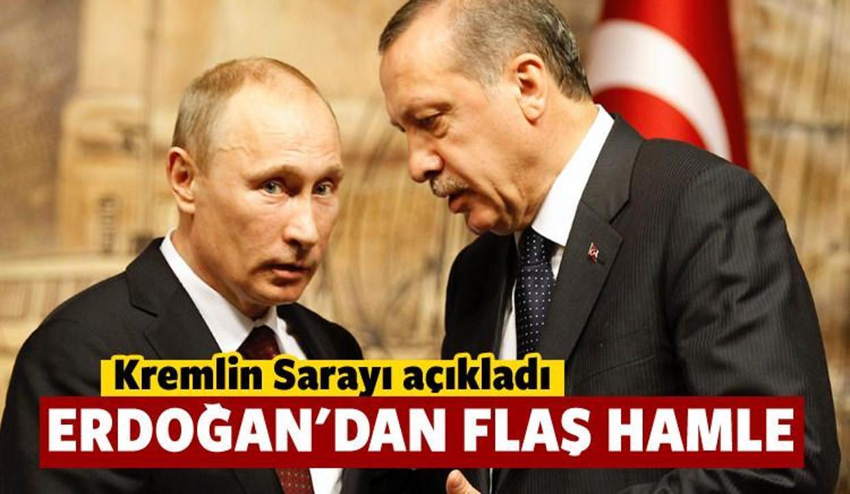 Kremlin açıkladı: Erdoğan'dan flaş hamle!