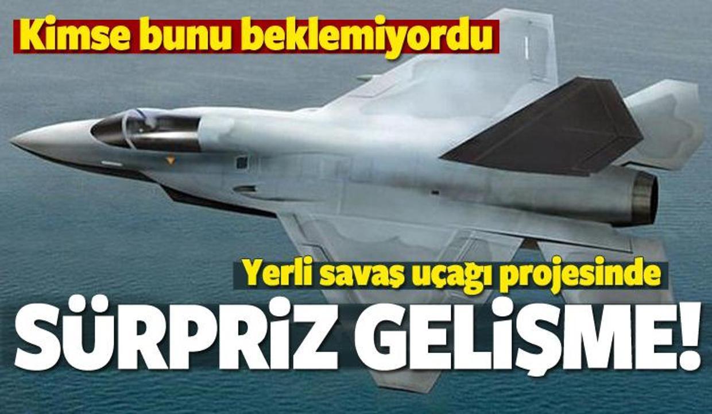 Yerli savaş uçağı için sürpriz teklif