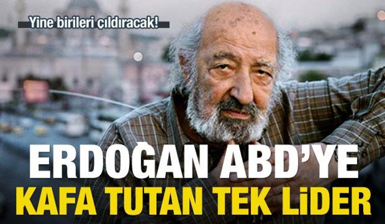 Güler: Dünyada ABD'ye kafa tutan tek lider Erdoğan