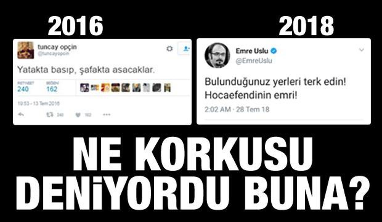 Emre Uslu, FETÖ elebaşının talimatını paylaştı!