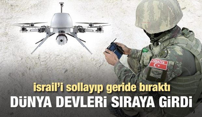Yerli 'kamikaze drone' Kargu için sıraya girdiler