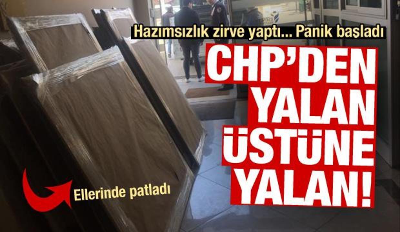 CHP'de hazımsızlık zirve yaptı! Yalan ellerinde patladı