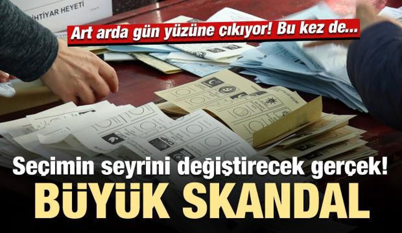 İstanbul seçimleriyle ilgili bir büyük skandal daha!