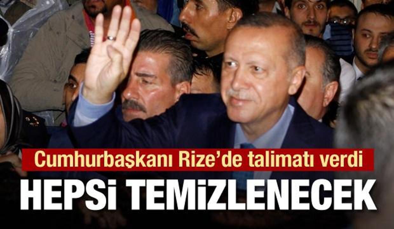 Erdoğan: Ayder'deki o salıncaklar temizlenecek