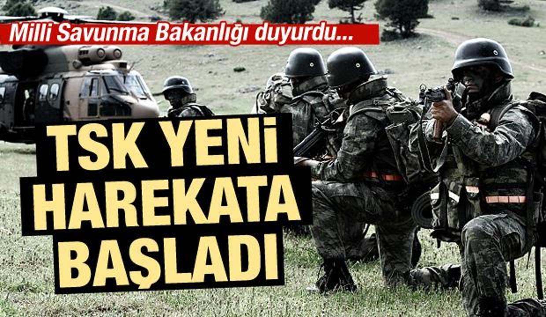 Milli Savunma Bakanlığı duyurdu: Pençe 3 harekâtı başladı