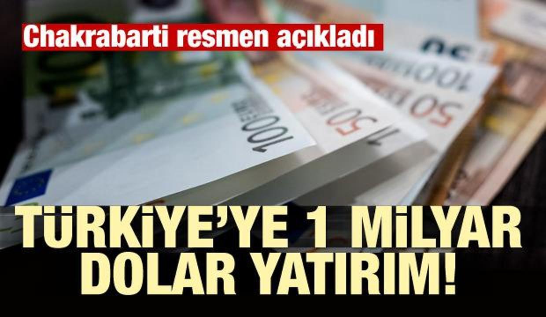 Dev yatırımı duyurdular! Türkiye'ye para akacak