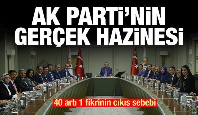 'AK Parti'nin aklına 40+1'in bir fikir olarak gelmesinin sebebi belli'