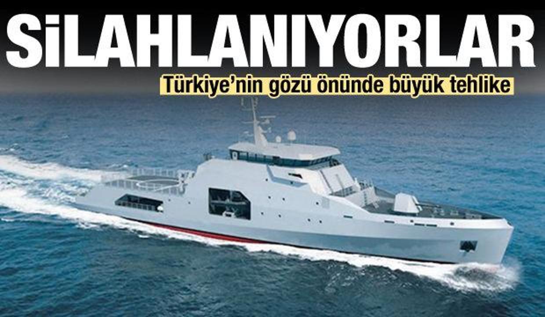Silahlanıyorlar! Türkiye'nin gözü önünde büyük tehlike