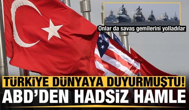 Türkiye dünyaya duyurmuştu, ABD'den hadsiz hamle!