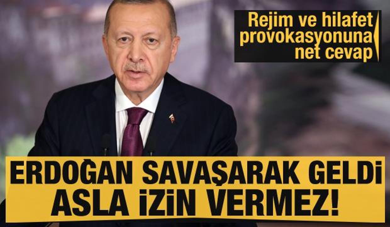 Rejim tartışmalarına son noktayı koydu: Erdoğan savaşarak geldi, asla izin vermez!