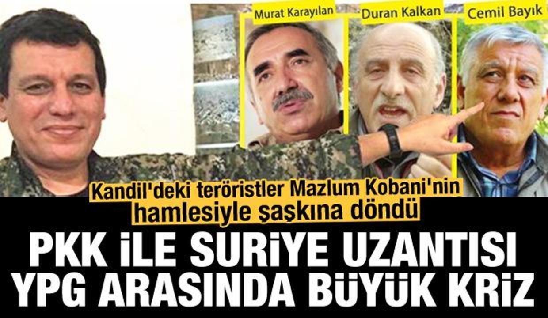 PKK ile YPG arasında kriz: Kandil, Mazlum Kobani'nin son hamlesiyle şoke oldu