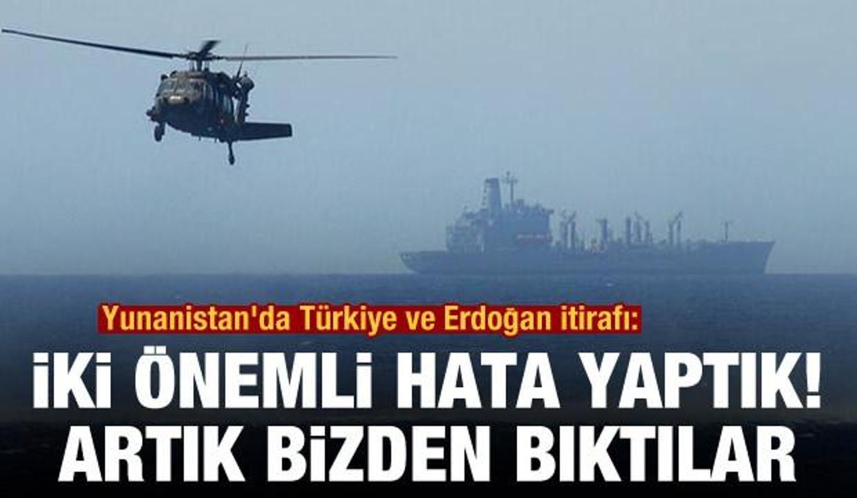Yunanistan'da Türkiye ve Erdoğan itirafı: İki hayati hata yaptık, bizden bıktılar