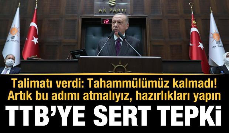 CumhurbaşkanıErdoğan'dan Türk Tabipler Birliği'ne çok sert tepki