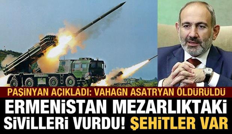 Paşinyan açıkladı: Vahagn Asatryan öldürüldü! Ermenistan işgalinden kurtarıldı