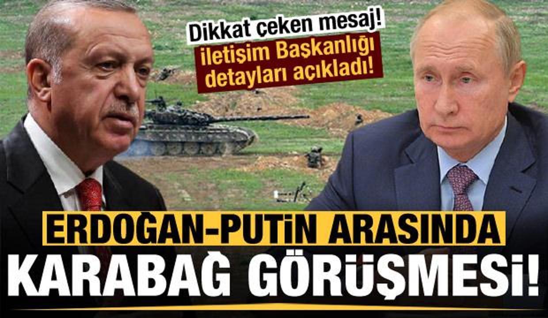 Başkan Erdoğan ile Putin arasında sürpriz Azerbaycan görüşmesi!