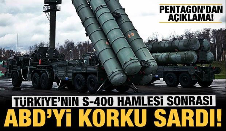 ABD'yi korku sardı: Türkiye'nin S-400 hamlesi sonrası açıklama