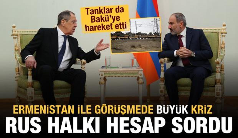 Rusya-Ermenistan görüşmesinde büyük krizi! Rus halkı hesap sordu