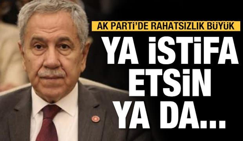 AK Parti'de 'Bülent Arınç rahatsızlığı'