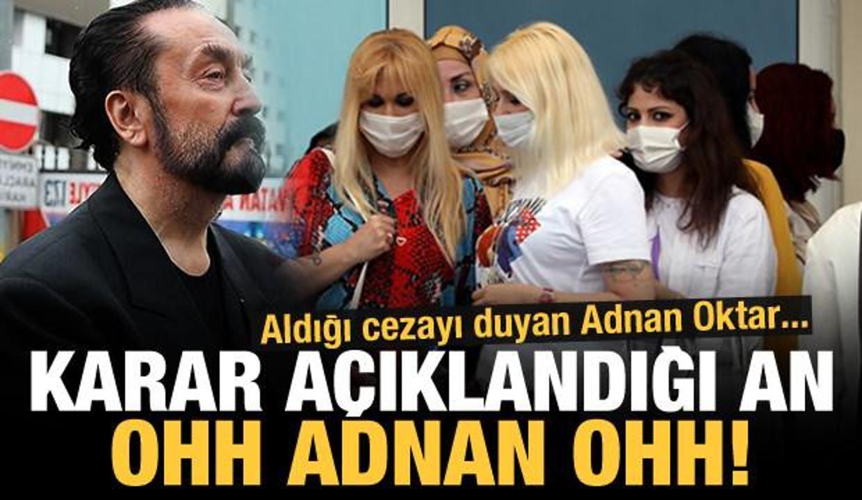 Karar açıklandığında Adnan Oktar ağladı!