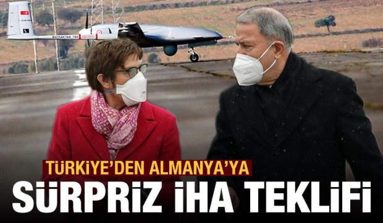 Türkiye'den Almanya'ya sürpriz İHA teklifi