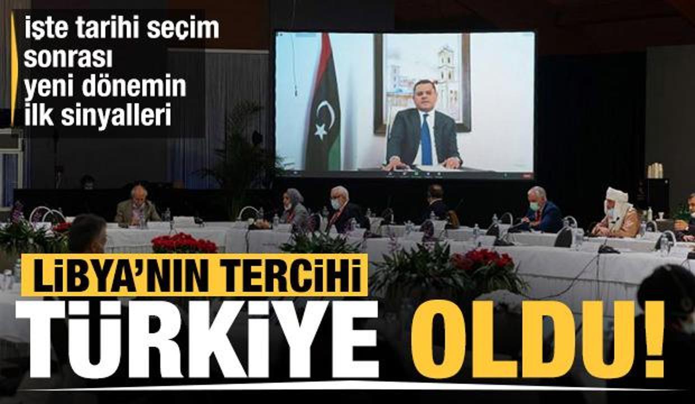 Libya'nın yeni başbakanı Türkiye'yi tercih etti