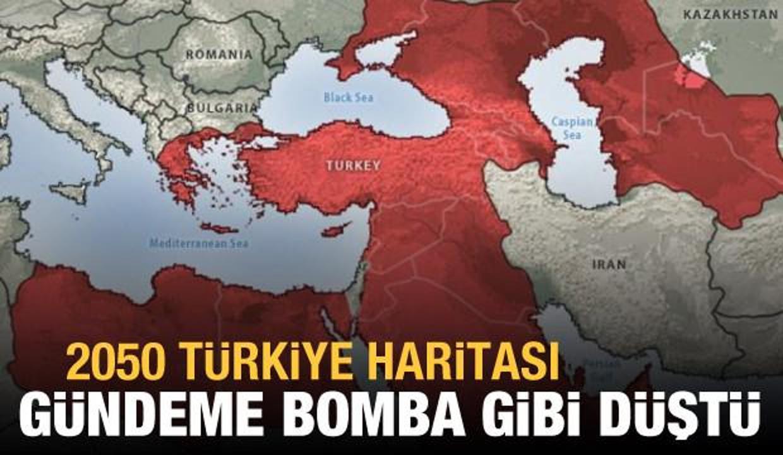 2050 Türkiye haritası gündeme bomba gibi düştü