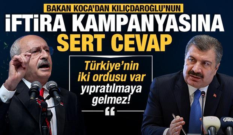Son Dakika... Bakan Koca'dan Kılıçdaroğlu'na aşı tepkisi: Maksatlı ifşaatla ne umuyorsun?