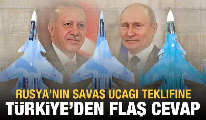 Rusya'nın savaş uçağı teklifine Bakan Varank'tan cevap