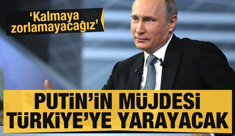 Son dakika haberi: Putin müjdeyi verdi! Türkiye'ye akın edecekler