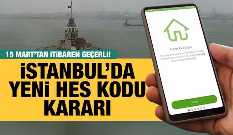 Son Dakika... İstanbul'da koronavirüs tedbirleri kapsamında yeni karar