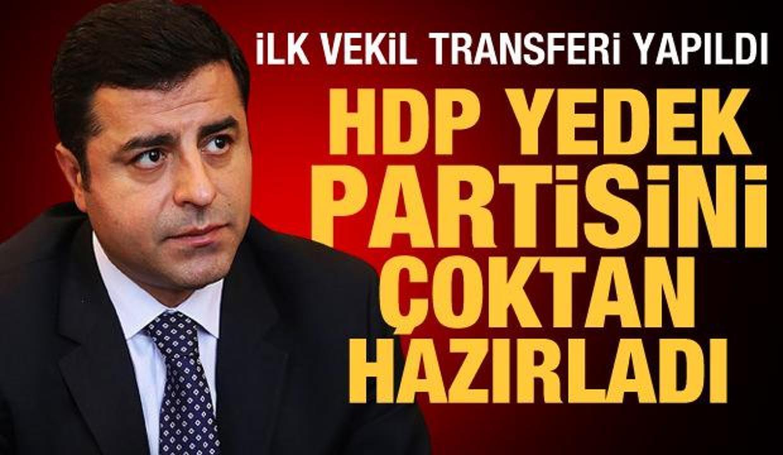 Nedim Şener yazdı: HDP yedek partisini çoktan hazırladı! İlk vekil transferi yapıldı