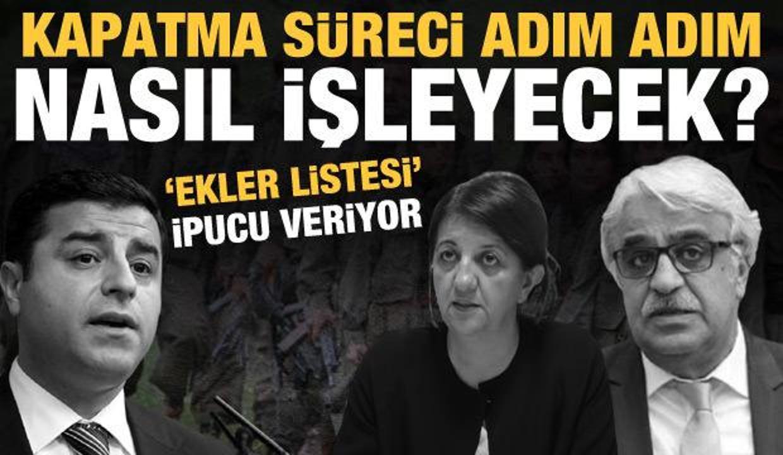 HDP'ye kapatma davası: Nasıl bir süreç işleyecek?