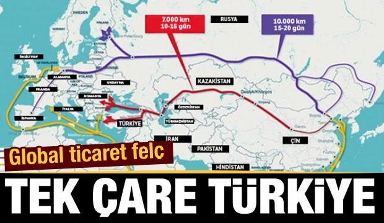 Global ticarette tek çare Türkiye