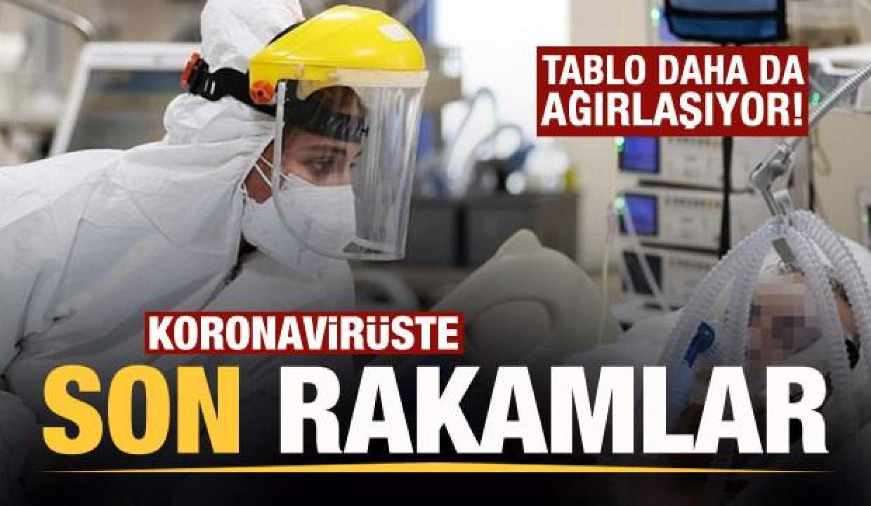 Son dakika: 13 Nisan koronavirüs tablosu! Vaka, Hasta, ölü sayısı ve son durum açıklandı
