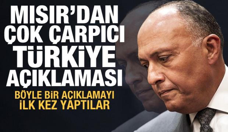 Mısır'dan Türkiye açıklaması: Biz iyi ilişkiler kurma konusunda istekliyiz