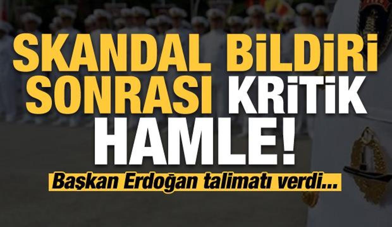 Son dakika: Skandal bildirisi sonrası hükümet harekete geçti! Erdoğan talimatı verdi