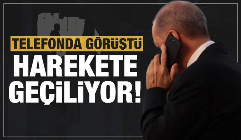 Mescid-i Aksa için harekete geçiliyor! Erdoğan telefonda görüştü