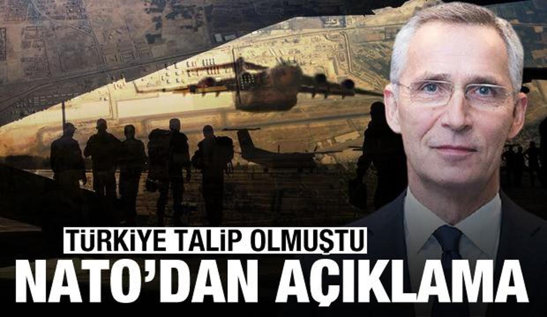 Türkiye'nin talip olduğu Afganistan görevi için NATO'dan açıklama