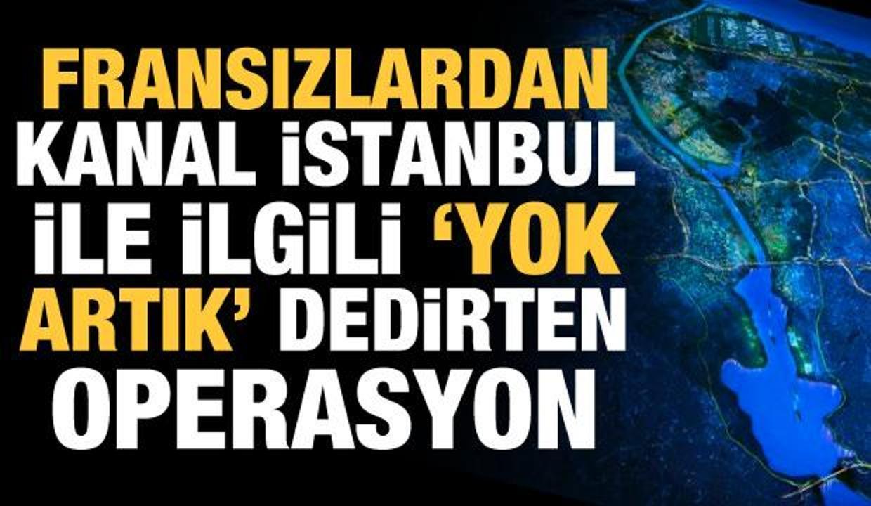 France 24'ten Kanal İstanbul ile ilgili 'sifon' karalaması