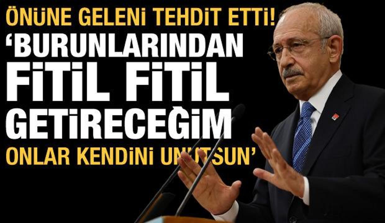Kılıçdaroğlu'ndan Kanal İstanbul tehdidi: Fitil fitil burunlarından getireceğim