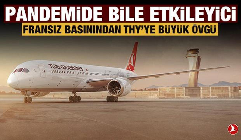 Türk Hava Yolları'ndan pandemiye rağmen büyük başarı!