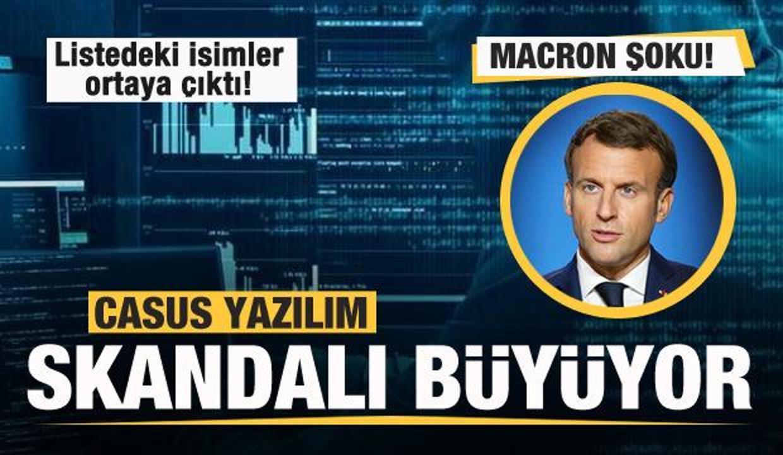 Dünyada 'Pegasus' skandalı büyüyor! Macron şoku!