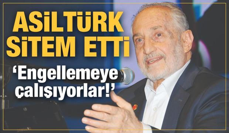 Oğuzhan Asiltürk sitem etti: Engellemeye çalışıyorlar!